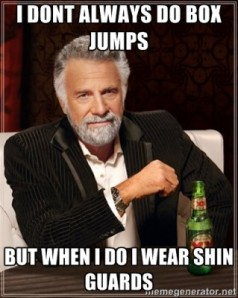 I don't always do box squats